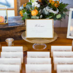 Malania and Tyler place setting
